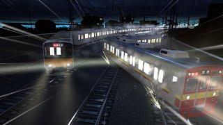 電車でD ShiningStage 東急田園都市線(ダウンヒル)1 東武50070系vsKRLジャボタベック Tokyu8500