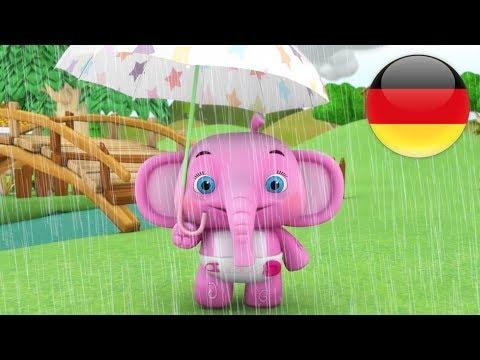 Regen Regen Geh Doch Weg | Deutsche Kinderlieder | Vorschulische Lieder | Reime Für Babies | Wiegen