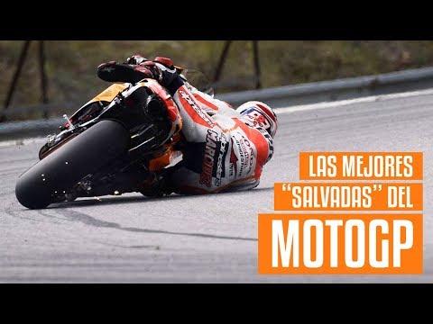 Las salvadas más épicas en MotoGP