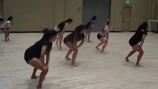 Tryout dance 2016 cheer IHS w music
