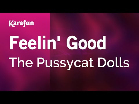 Karaoke Feelin' Good - The Pussycat Dolls *