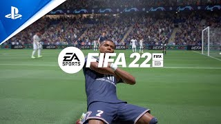 FIFA 22 - Official Reveal Trailer - Powered by Football   PS5, PS4