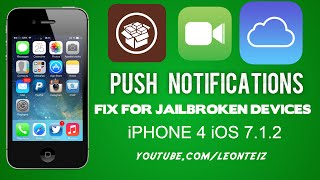 Video Fix Push Notifications and FaceTime / iMessage on Bypassed iPhone 4 (iOS 7.1.2) download MP3, 3GP, MP4, WEBM, AVI, FLV Juni 2018