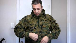 USMC GORE-TEX JACKET-WOODLAND MARPAT DIGITAL