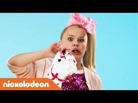 JoJo Siwa & Ella Anderson Teach 'How To Make a Crunchy Holiday Slime Snowman' ☃️    Nick
