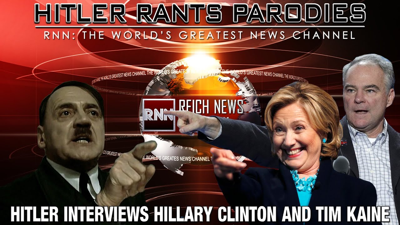 Hitler interviews Hillary Clinton & Tim Kaine