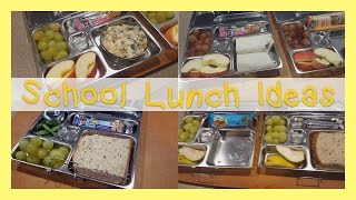 School Lunch and Snack Ideas! | Allison's Journey