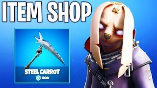 OMG SCARY BUNNY SKIN! Fortnite ITEM SHOP! Daily And Featured Items!