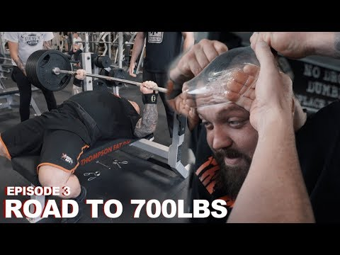 606LBS BENCH | ROAD TO 700LBS | EPISODE 3