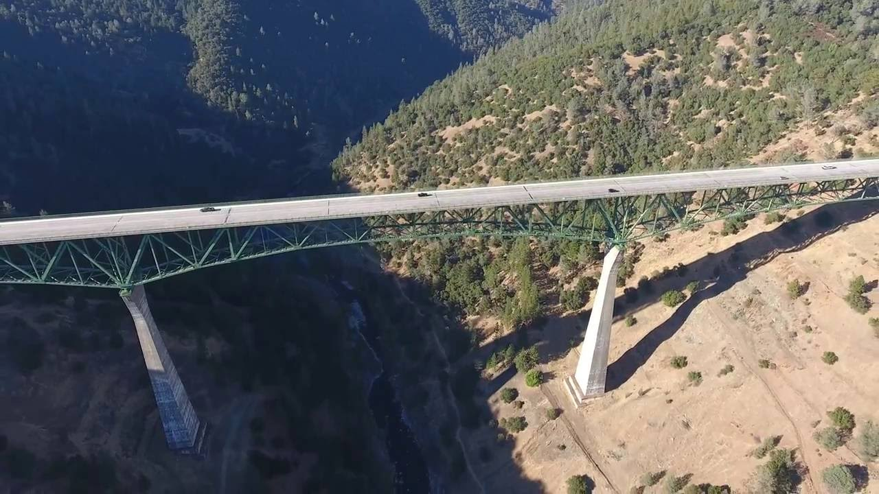 4K The Second Highest Bridge In The World In 1973 One
