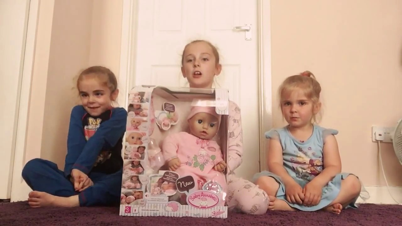 NEW Baby Annabell Doll Unboxing - YouTube