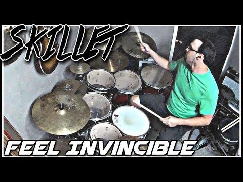 skillet feel invincible drum cover youtube. Black Bedroom Furniture Sets. Home Design Ideas