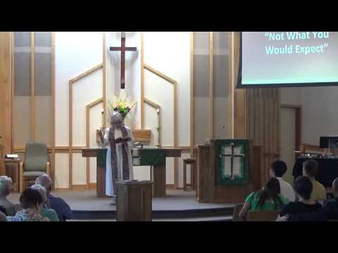 "AUMC Sermon ""Not What You Would Expect"" Oct 9, 2016"