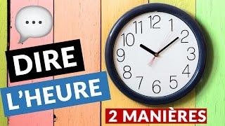 Comment dire l'heure en anglais facilement ?