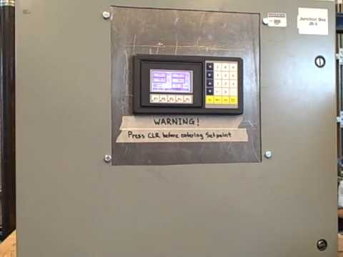 Controlling water level with a PLC