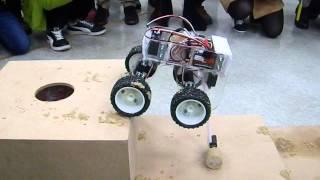 2015 美國機械工程師學會 學生救難機器人設計競賽 ─ 秒速五公分