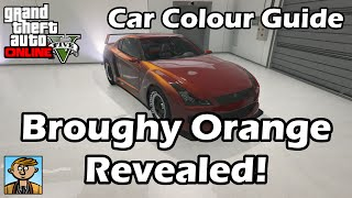 Broughy Orange Revealed! - GTA Car Colour Guide