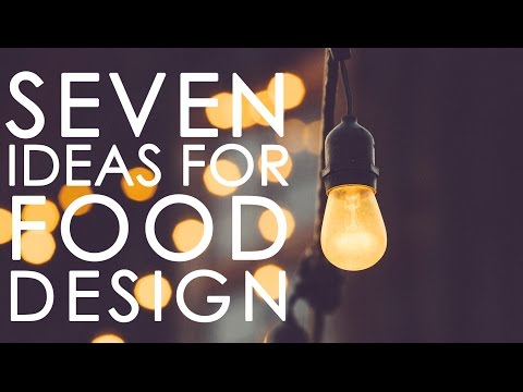 7 Food Design ideas for food designers - From Food Trends 2017