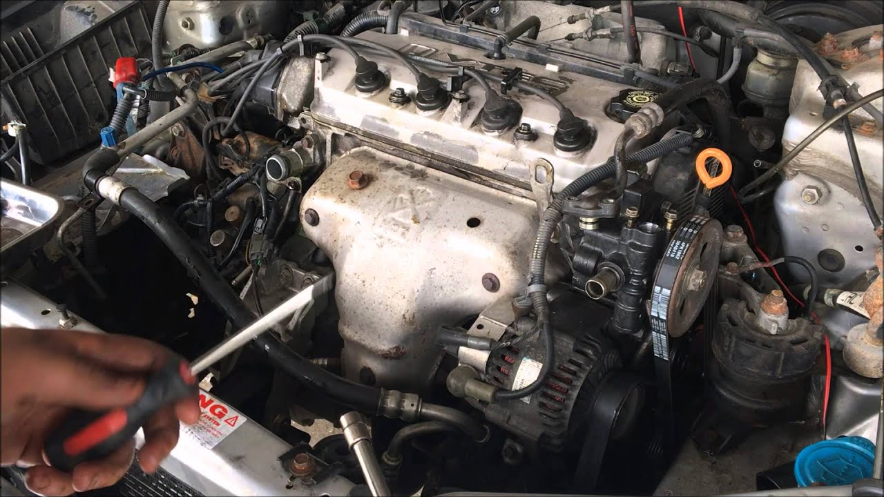 98-02 Accord Engine/Transmission Removal: Part 1 on