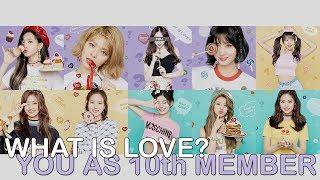 [ karaoke ver. ] twice - what is love? // 10 member version (you as member)