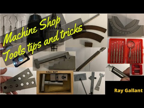 Machine Shop tools and tricks