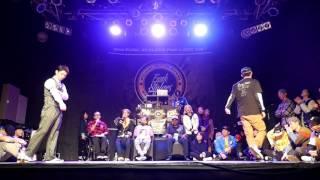 LOCKUN Vs BUGGY Quarter Final LOCKING Funk Stylers Battle 2016