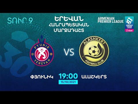VBET Armenian Premier League. Matchday 9. FC Pyunik - FC Alashkert
