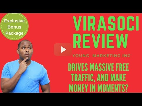 Virasoci Review Drives Massive Free traffic & Make Money in Moments? Find out in my Virasoci review