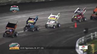 Knoxville Raceway 410 Sprint Car Highlights