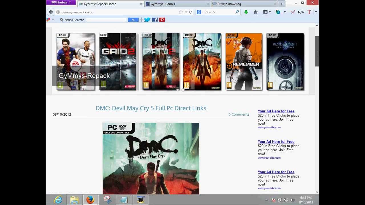 How To Download Pc Games Fast Direct Links Youtube