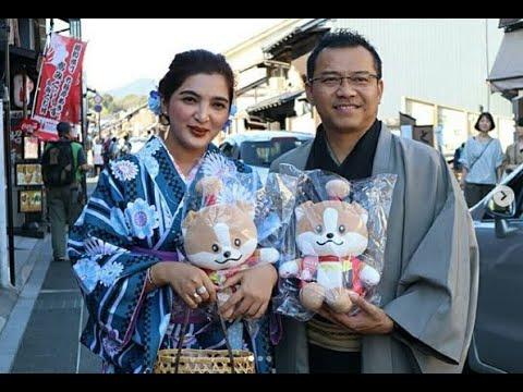 Anang dan Ashanty kuliner di Jepang