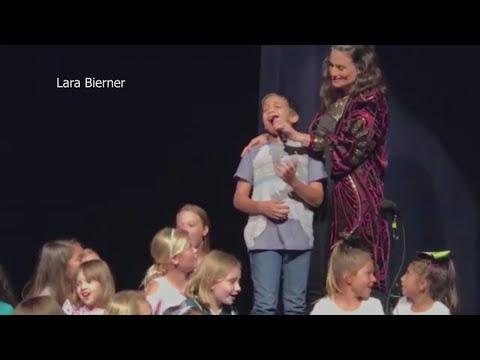 Boy, 11, Sings 'Let It Go' To 'Frozen' Star Idina Menzel
