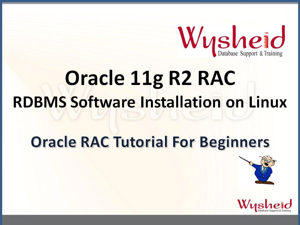 Installing oracle database 11g on asm (standalone server.