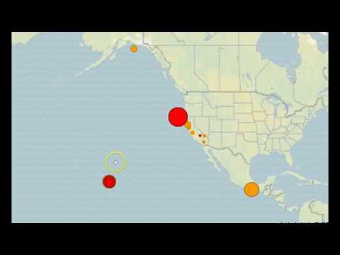 Strong 5.6M Earthquake, Swarm Strikes Off Coast of California and Oregon