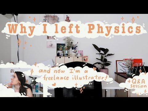 Why I left Physics ✨ ~ ✨ now I'm a freelance illustrator ✨