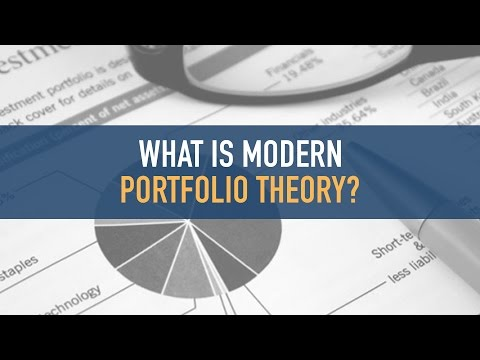 What is Modern Portfolio Theory?