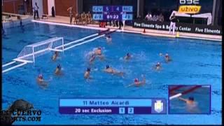 Crvena Zvezda 11 Pro Recco 7 pty 2 3 Champions League qu  2014 water polo
