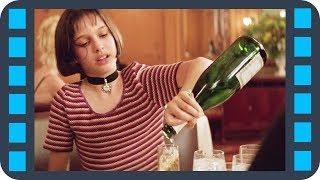Опьяневшая Матильда пытается поцеловать Леона — «Леон» (1994) сцена 4/8 HD