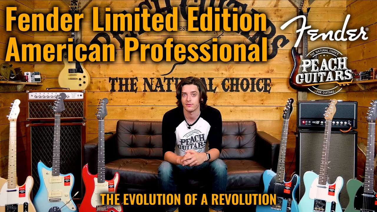 THE EVOLUTION OF A REVOLUTION | A Closer Look At...Fender American Pro Limited Edition Models!