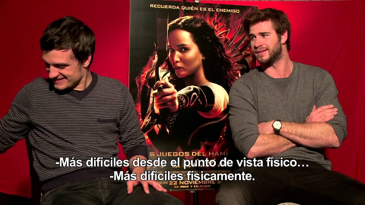 Hemsworth ('Los juegos del hambre: En llamas') - CINEMANÍA - YouTube