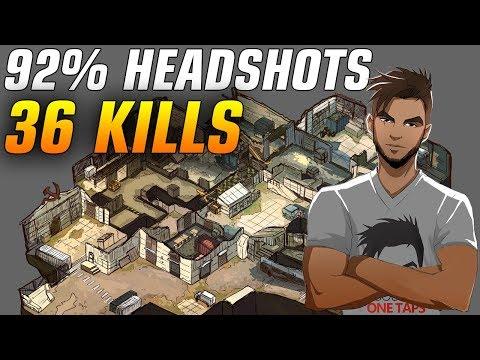 CS:GO - ScreaM 36 frags on Cache - 92% Headshots