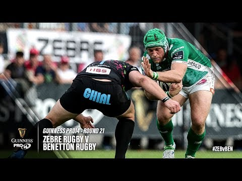 Guinness PRO14 Round 21 Highlights: Zebre Rugby v Benetton Rugby