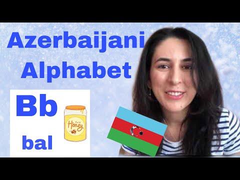 Learn Azerbaijani: Alphabet. Lesson 1