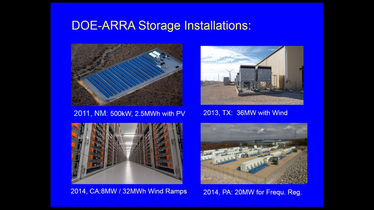 Oregon Department of Energy – Energy Storage Demonstration RFP Information  Session (9 14 2015)