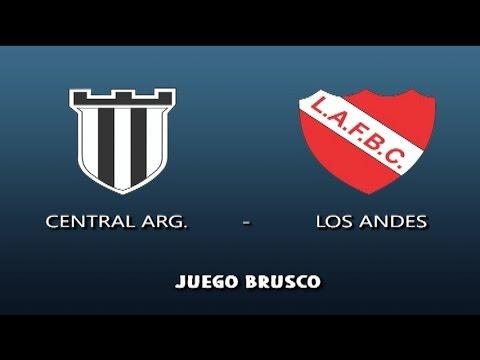 Central Argentino 2 - Los Andes 0 | Resumen