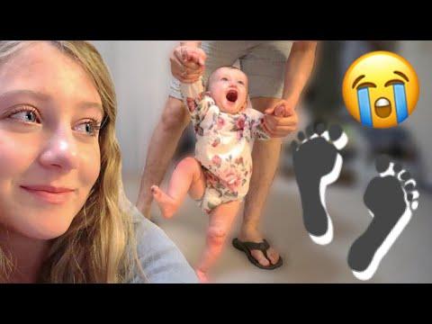 She's Finally Starting To Walk *emotional* | Teen Mom Vlog