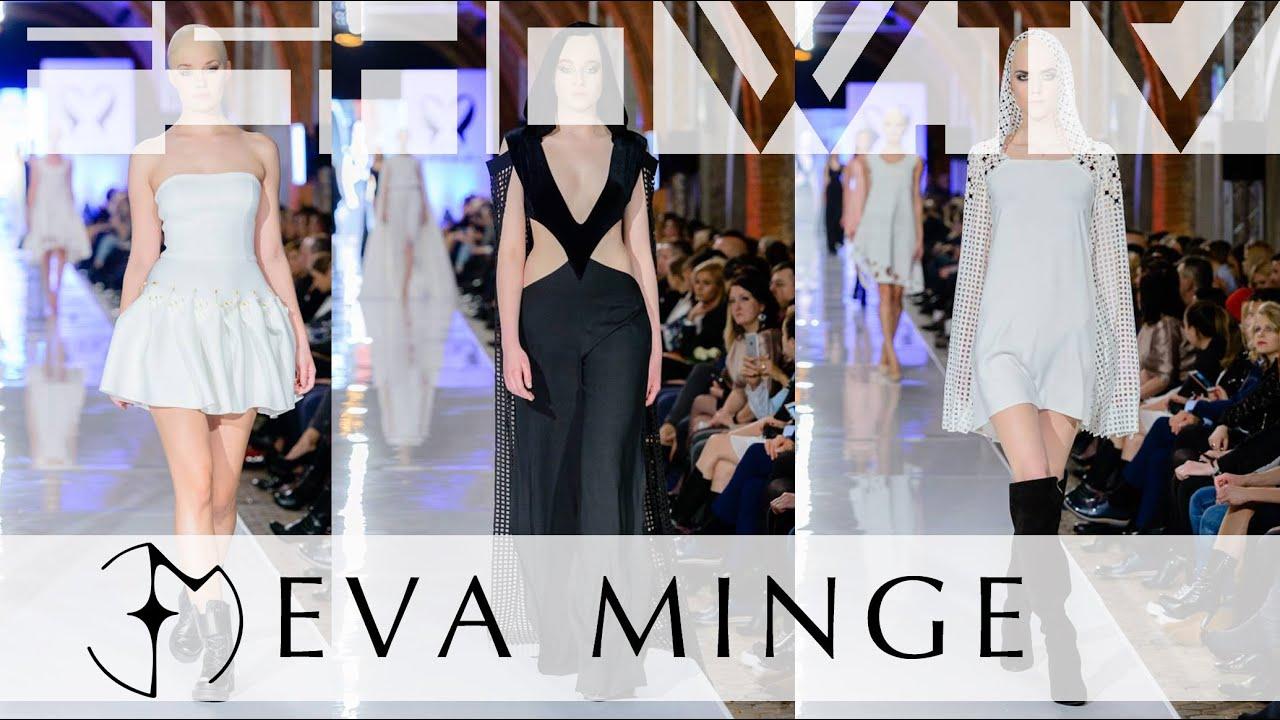 Ewa minge black&white dress
