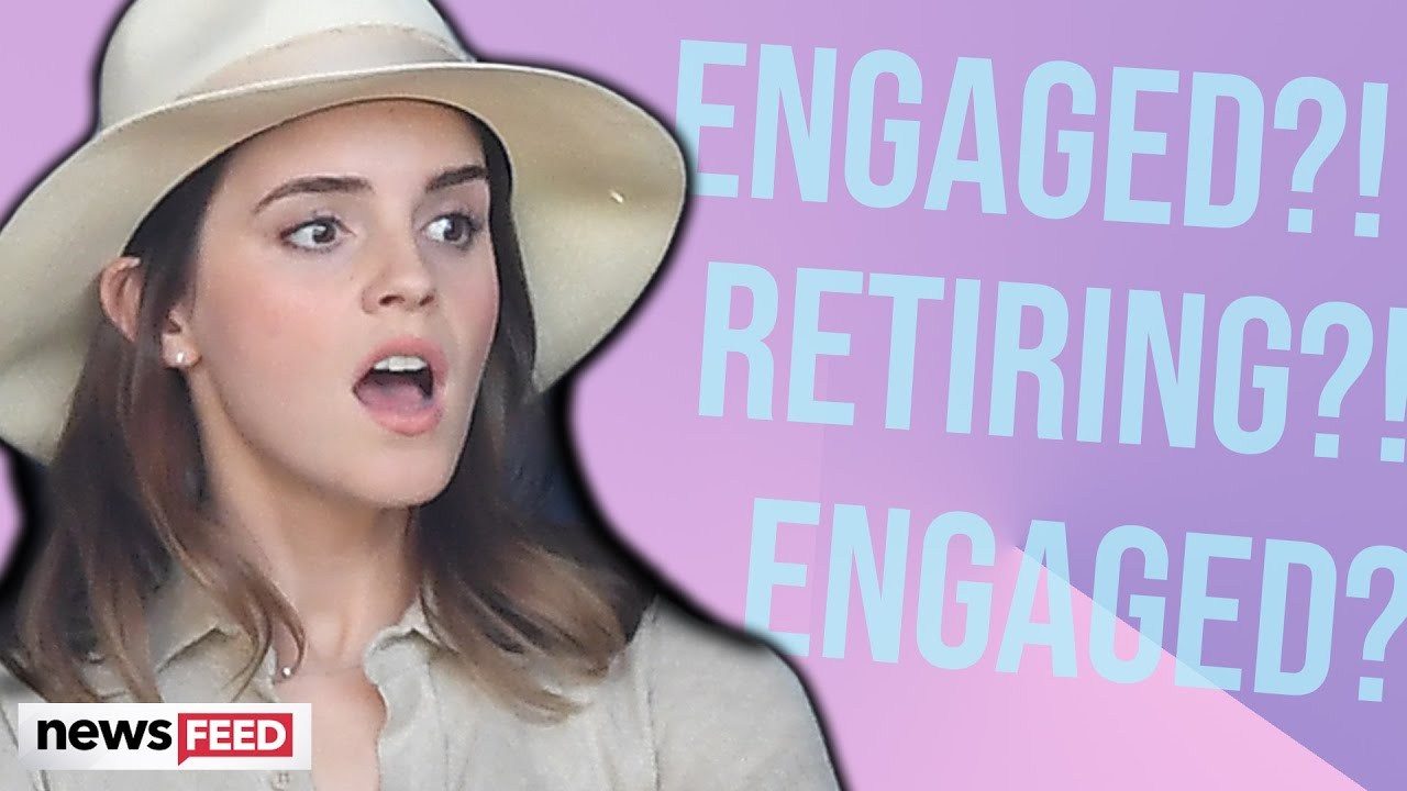Emma Watson QUITS Acting After Engagement?!