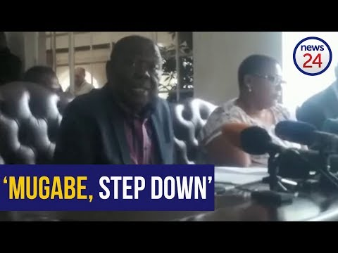 Mugabe must step down in line with national sentiment - Tsvangirai