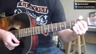 Paul Simon - Me And Julio Down By The Schoolyard - Guitar Tutorial